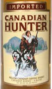 Canadian Hunter whisky