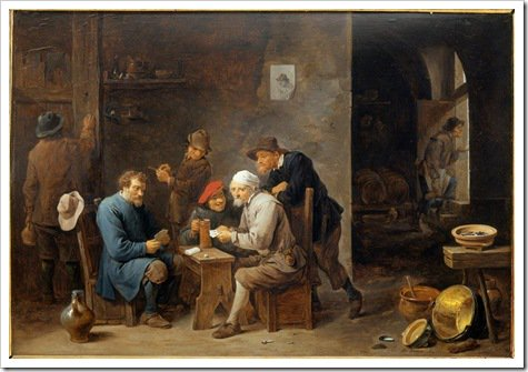 Card Players - David Tenier the Younger