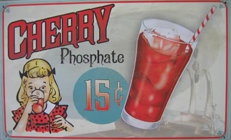 Cherry Phosphate Soda