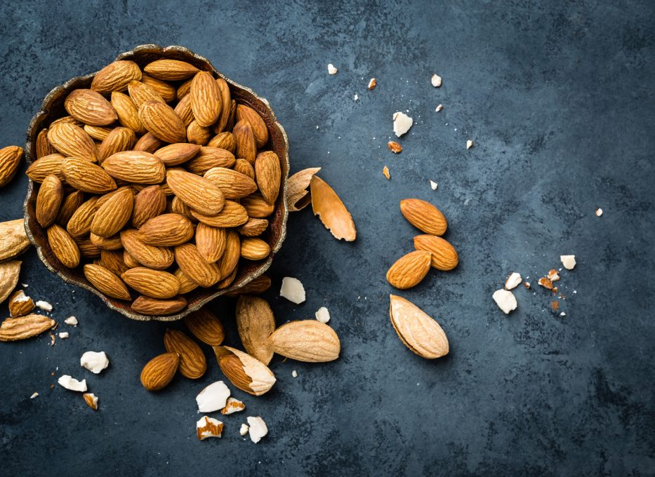 Almonds and Orgeat Syrup