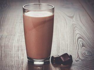 Egg Cream Milkshake