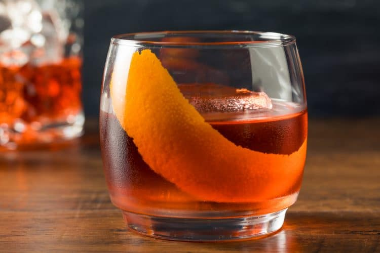 Vieux Carre Cocktail Recipe from New Orleans