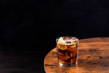 Rum & Coke drink recipe