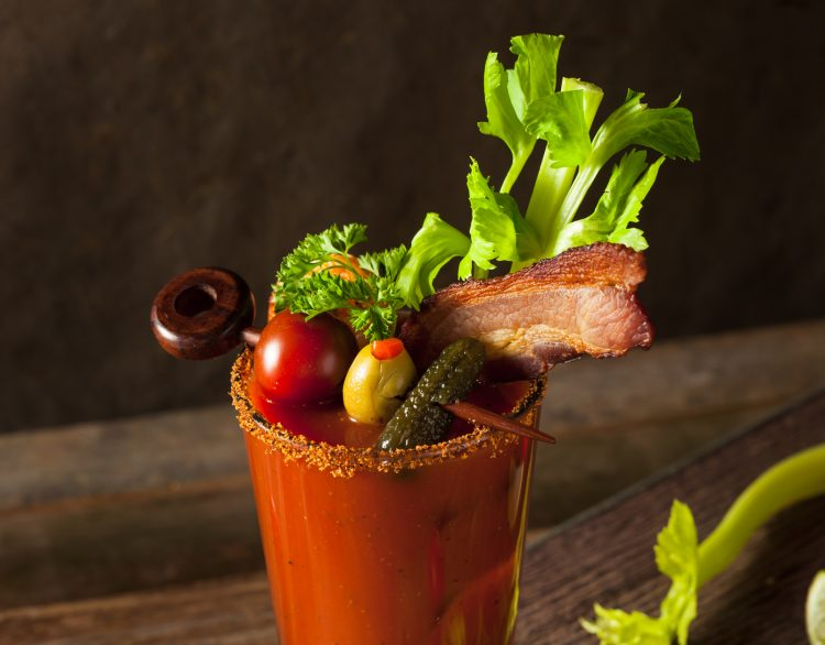 Bloody Caesar Cocktail Canada