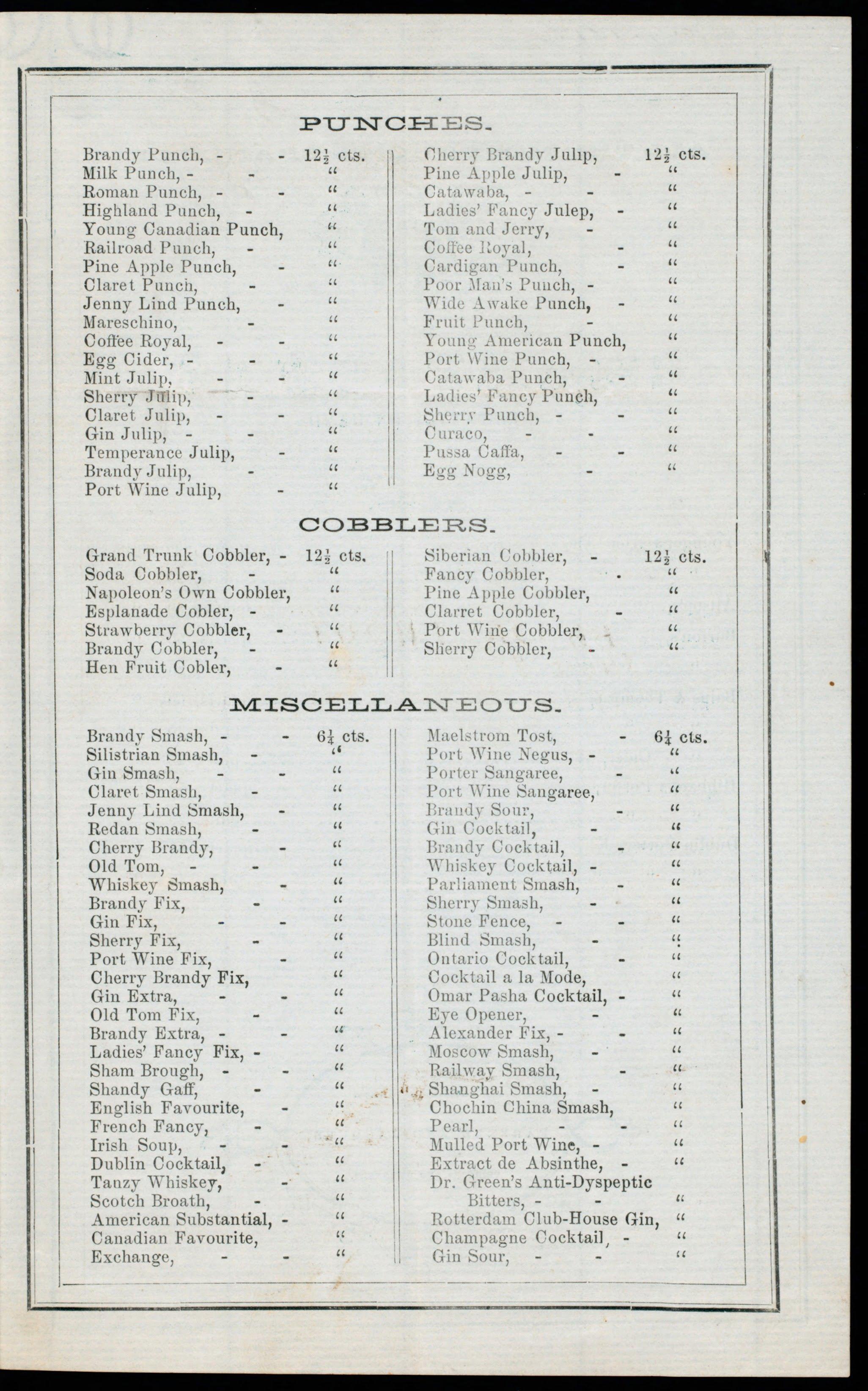 Mart Ackerman's Saloon (Toronto, 1855)