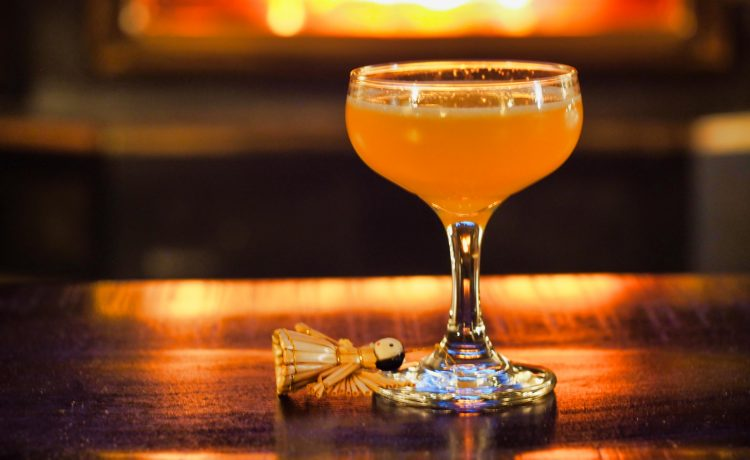Recipe for a Fallen Angel Cocktail, similar to a Gin Fix or Southside