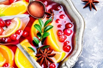 Punch recipe for the Christmas and Holiday season.